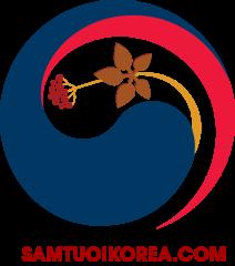 logo sâm tươi korea