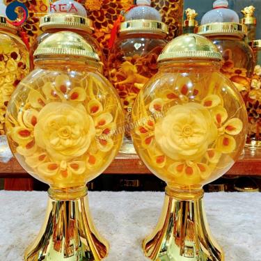 Bình rượu hoa sâm bình 5 lít bình số 40